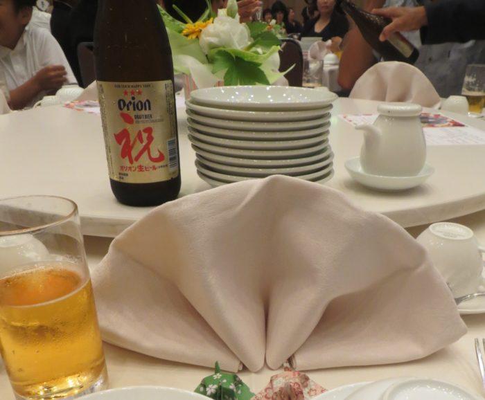 結婚披露宴の円卓